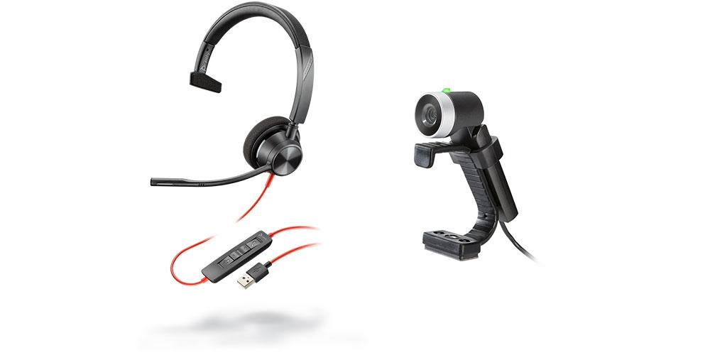 Základná zostava pre bežnú audio / video komunikáciu