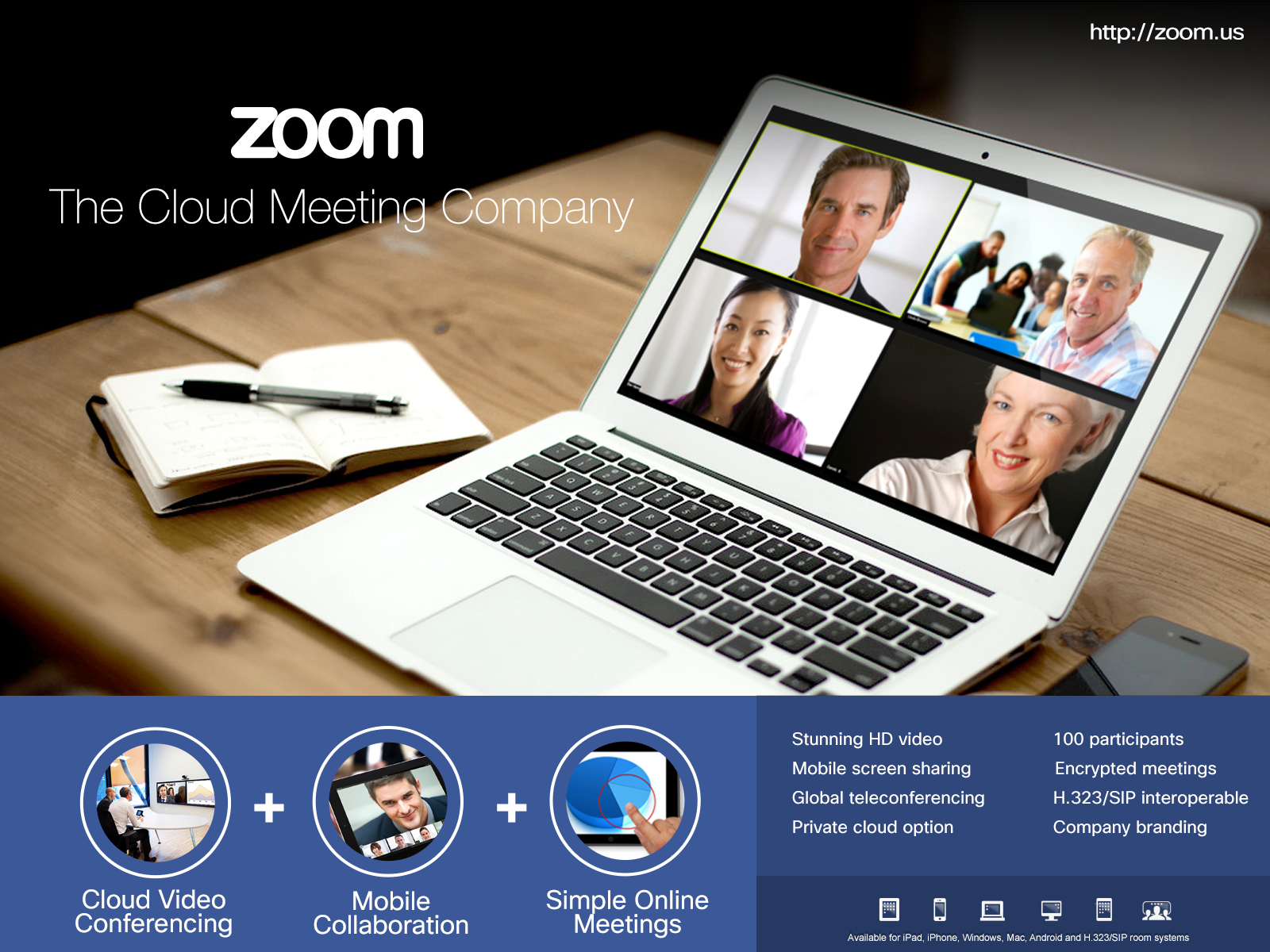 zoom služby