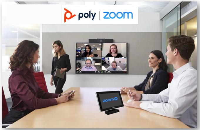 Poly Zoom webmeeting video